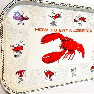 VINTAGE Lobster Tray 🦞